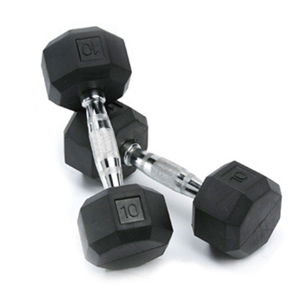 spri-deluxe-rubber-dumbbells-review